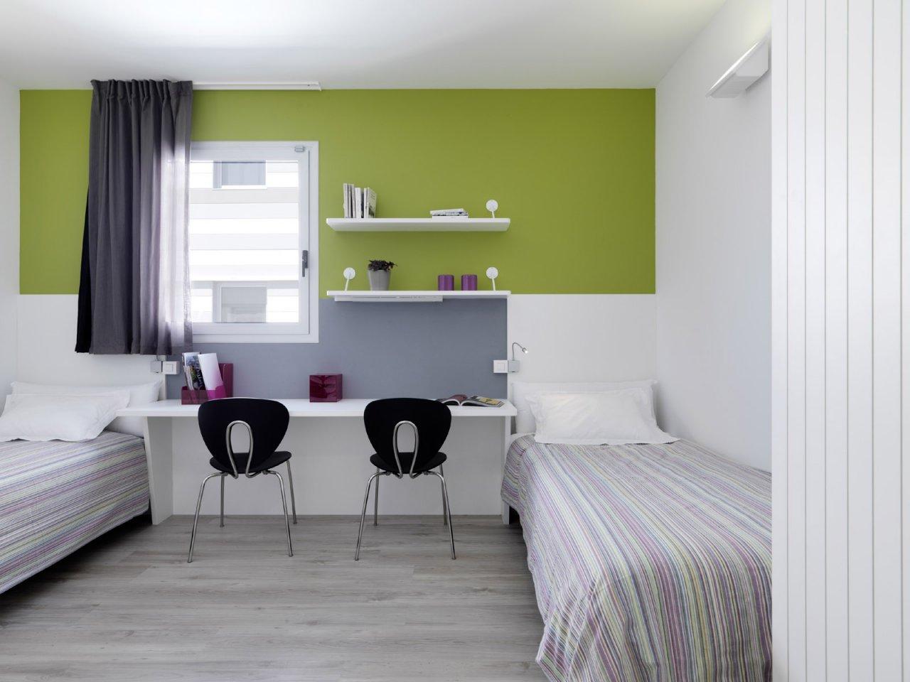 Habitaci n compartida en residencia universitaria una for Habitaciones para universitarios