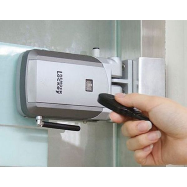cerradura invisible con mando a distancia