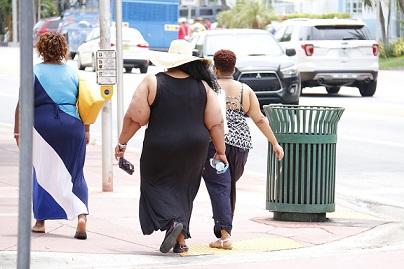 Hongos en los pies y uñas en personas obesas